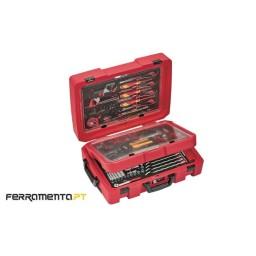 Mala com 118 Ferramentas Teng Tools SCE1