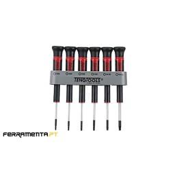 Jogo 6 Chaves Precisão Teng Tools MDM706TX