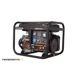 Motosoldador Gasolina 2,5 kW Hyundai HYW190AC