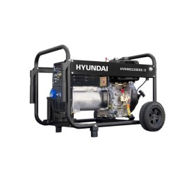Motosoldador Diesel 6,5 kVA Hyundai HYKWD220EDC-3