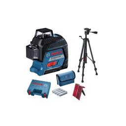 Nível Laser de linhas 360º Bosch GLL 3-80 Professional + Tripé