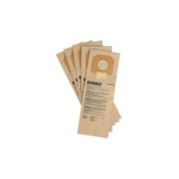 Pack de 5 Sacos de Papel DeWalt DWV9401-XJ