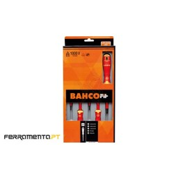 Set Chaves de Fenda / Phillips VDE 5Pcs Bahco B220.005