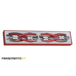 Tabuleiro de Alicates para Freios 4Pcs Teng Tools TTX4749