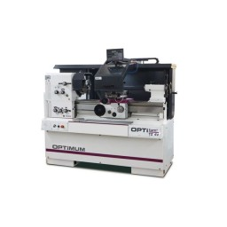 Torno Mecânico c/ Display 400V DP700 Optimum TZ4