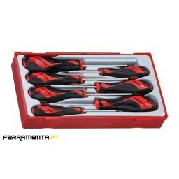 Jogo Chaves de Fenda TX/TPX Teng Tools TT917TXN