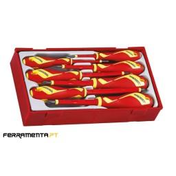 Jogo Chaves PZ / PH Isoladas 1000 V Teng Tools TTV907N