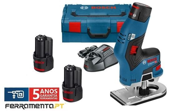 Tupia A Bateria Bosch Gkf 12v 8 Professional